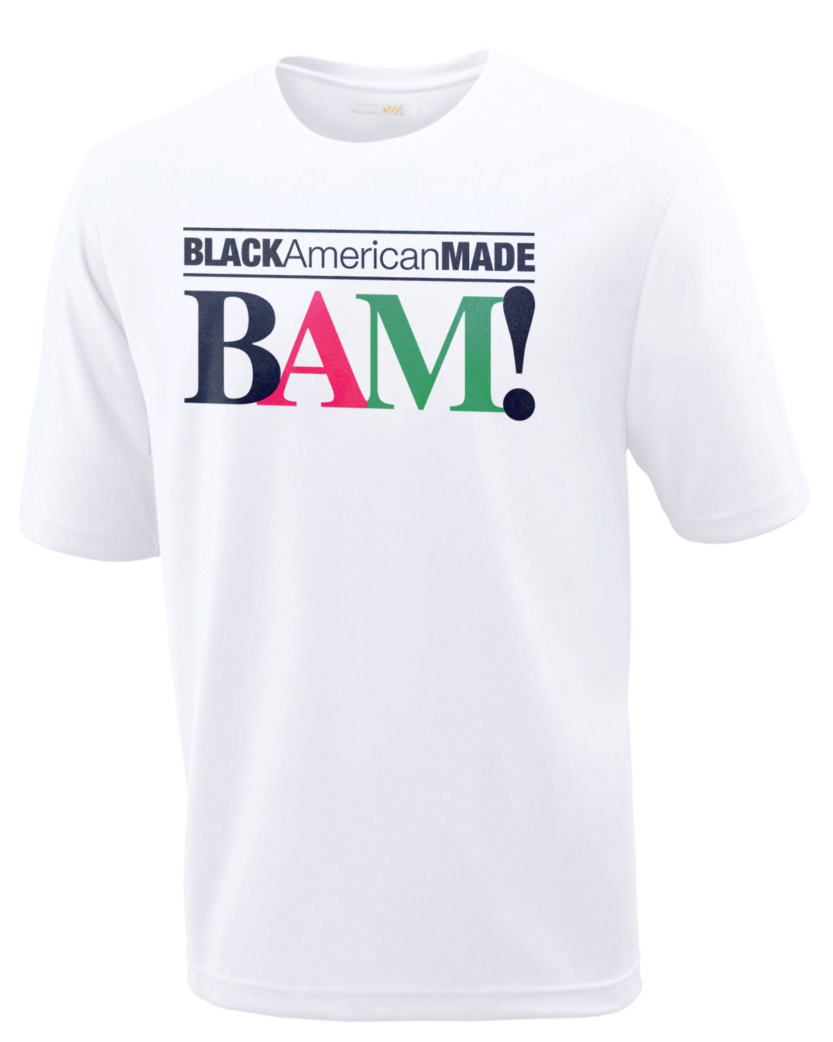 BAM! Tee with Logo & Website on back